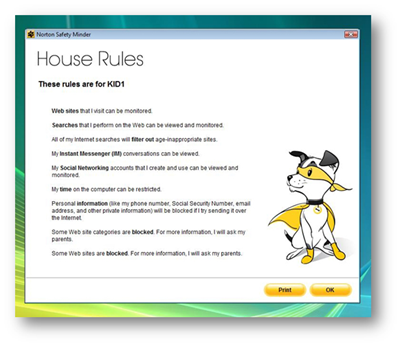 OnlineFamily Norton: Setting the House Rules - The TECHLife Post